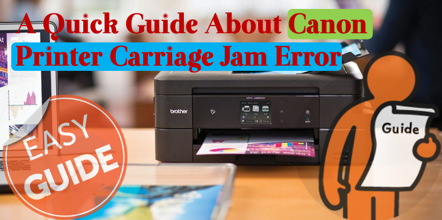 Canon printer carriage jam error
